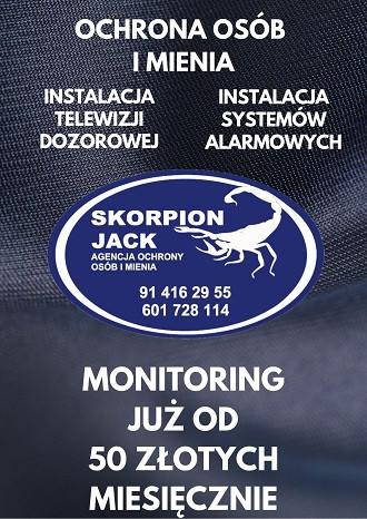 Skorpion Jack - agencja ochrony Gryfino (19.06 - 31.12.2021)
