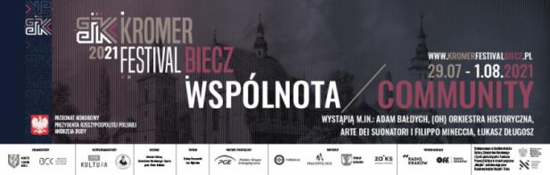 Znamy program Kromer Festival Biecz 2021! – Kromer Festival Biecz w 2021 roku odbędzie się między 29 lipca a 1 sierpnia. Cztery dni wypełnione sześcioma koncertami – mimo izolacji, mimo przeciwności. Motywem przewodnim tegorocznej odsłony Festiwalu jest WSPÓLNOTA – ostatni rok pokazał, jak bardzo w