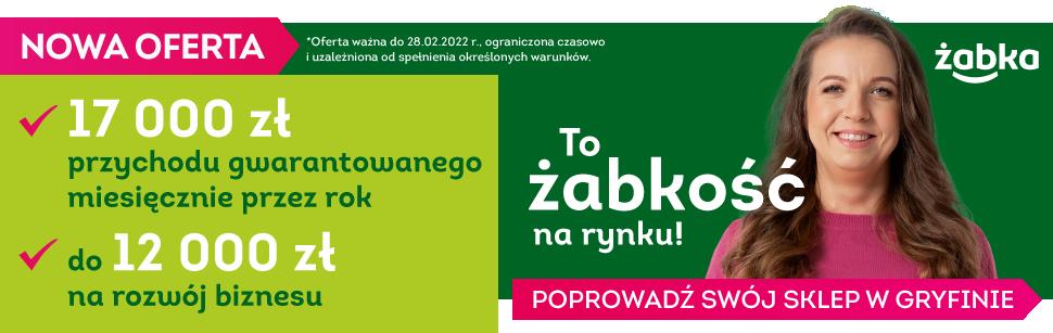 Żabka Gryfino (14.09. - 15.10.2021)