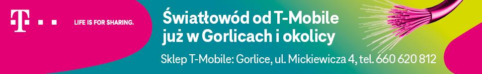 Świałowód T-MOBILE już w Gorlicach i okolicy | Sklep T-Mobile, Gorlice ul. Mickiewicza 4